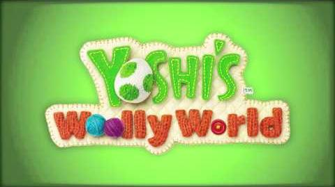 Fluffy Snow, Here We Go (Yoshi's Woolly World)