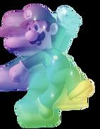 Rainbow Luigi