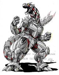 Godzilla Neo KIRYU by KaijuSamurai