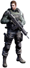 Chris Redfield BOTG