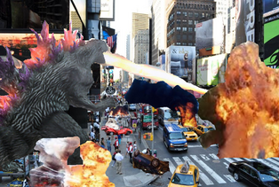 Godzilla in New York