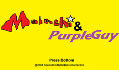 Malachi & Purple Guy Title Screen