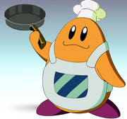 Chef Kawasaki SSBR character