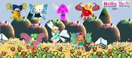 Hello yoshi fairies