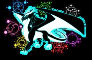 Cyan Ultimate Dragon