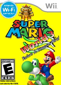 Super Mario World 3 boxart