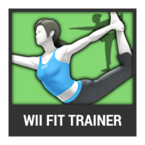 ACL -- Super Smash Bros. Switch character box - Wii Fit Trainer