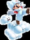 Cloud Mario NSMBVR