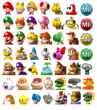 MK3DS Characters