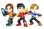 Mii Fighter (SSB Evolution)