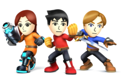Mii Fighters SSB4