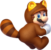 487px-Tanooki Mario Artwork - Super Mario 3D World