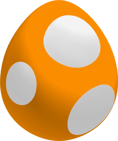 File:Orange Baby Yoshi Egg.png
