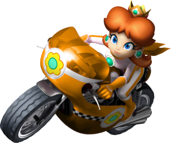 File:Mario kart wii daisy bike by tonytoad22-d3dizdr.png