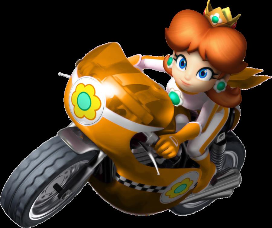 Image Mario Kart Wii Daisy Bike By Tonytoad22 D3dizdr