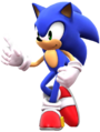 Sonic the hedgehog 1 pose by banjo2015-d8r658z