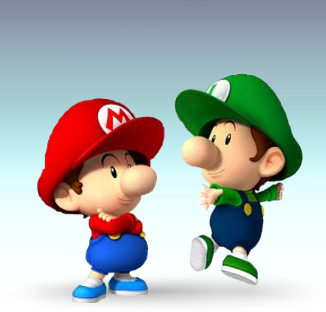 File:Baby Mario Bros Artwork.png