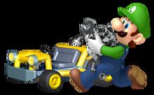 Luigi mario kart RPG