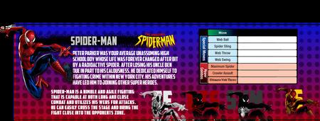 Spider-man mvc4info