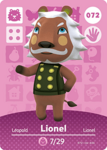 Ac amiibo card lionel