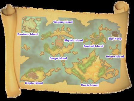 Melodius Islands Names