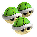 File:Triple Green Shell - Mario Kart 8 Wii U.png