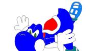 Blue Yoshi (Nintendo Adventures)