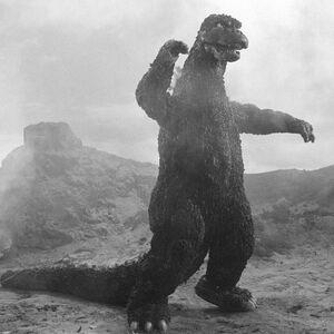 Godzilla 1974 B&W