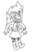 Gremlin girl