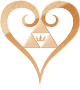 Kingdom hearts logo heart by thecrownedroxas