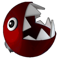 Red Chomp Head