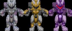 SSBRiot ArmoredMewtwo Colors