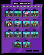 NintendoKart Final Character Selection