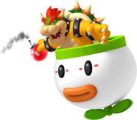 Bowser in Koopa Car