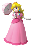 Princess-Peach-Render