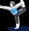 450px-SSB4 - Wii Fit Trainer Artwork