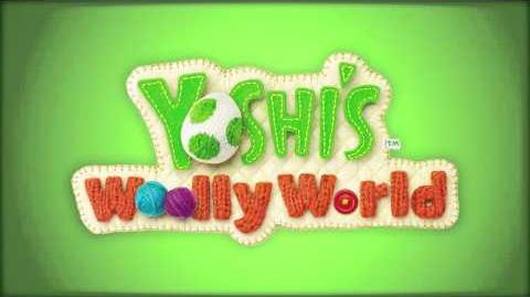 Scarf Roll Scamper (Yoshi's Woolly World)