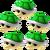 Five Green Shells