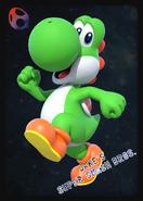 Yoshi - JSSB amiibo card