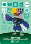 Ac amiibo card sterling
