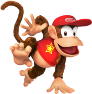 473px-Diddy Kong SSB4 - Artwork