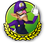 File:MK3DS Waluigi icon.png