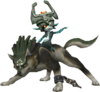 Midna & Wolf Link