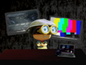 Frog office shel