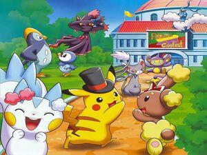 Pokemon Contest by bijou457