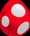 Red Baby Yoshi Egg
