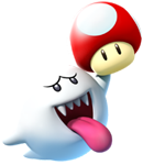 Boo Artwork (alt) - Mario Party Island Tour