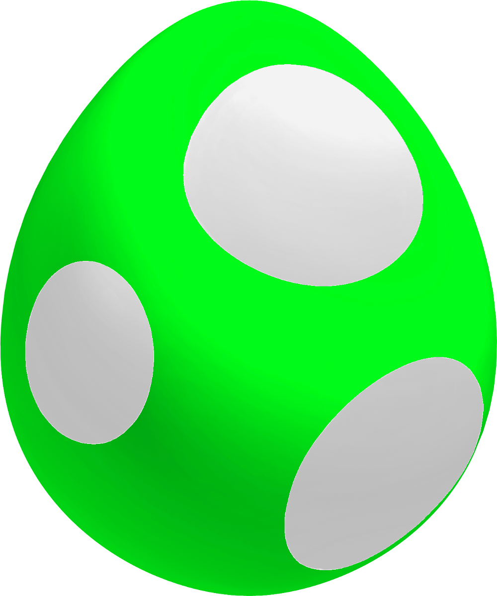 Image - Lime Baby Yoshi Egg.png | Fantendo - Nintendo