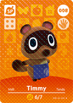 Ac amiibo card timmy