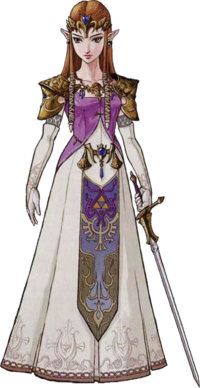 Princess Zelda Artwork (Twilight Princess)-0